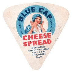 A Collection of Vintage Cheese Labels: Slideshow: Observatory: Design Observer #cheese #packaging #label #illustration #brand #typography