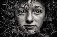 #face #freckles #eyes #portrait #photo