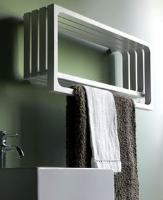 Designer Heating Units by Tubes Radiatori - #bath, #interior, #decor, #design, #productdesign, #industrialdesign, #objects