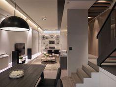 Unique Modern and Contemporary Apartment