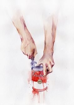 Illustrations on the Behance Network #larin #freedom #behance #dmitriy #art #rebus #watercolor