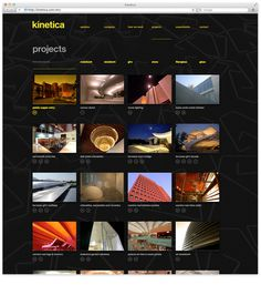 Web5 #yellow #black #minimal #webdesign