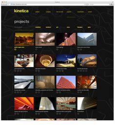 Web5 #yellow #black #minimal #webdesign