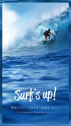 Waitui Charters Fiji #photography #sea #wave #surf #water #break #cloud break