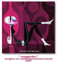 magenta.jpg 468×504 pixels #illustration #mod