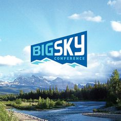 Big Sky Conference Logo #logo #blue #sky