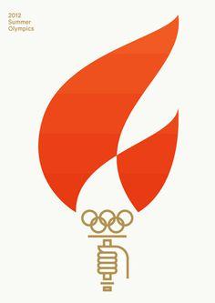 Olympic Games 2012 #geld #olympics #fire #minimal