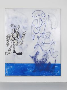 pootee: Contemporary Art Daily - Ida Ekblad at Herald St. #illustration
