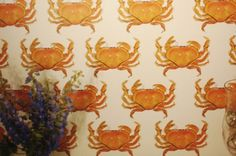 RIFFLE NW on Behance #riffle #pattern #nw #wallpaper #crab
