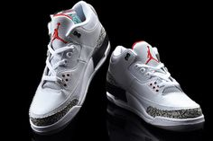 Nike Air Jordan 3 88 Retro White Cement Mens Shoes #shoes