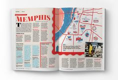 Memphis Diner Map #layout #memphis #diner #map