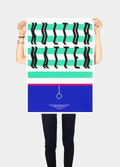75_kulturnat1.jpg (JPEG kuva, 539×750 kuvapistettä) #typography #mint #legs #poster #green