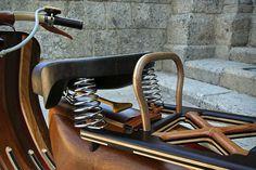CJWHO ™ (Wooden Vespa Scooter by Carlos Alberto | via ...) #crafts #design #scooter #wood #vespa
