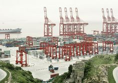 Collate #dock #cranes #harbour