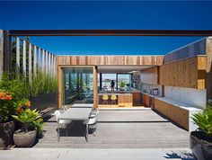 Open Plan House Filled with Light - #architecture, #house, #home, #outdoor