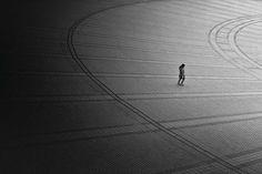 Black and White Minimalist Approach to Tokyo by Hiroharu Matsumoto