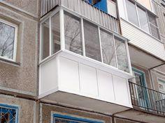 Балкон под ключ. Окна на балкон. Кривой Рог
