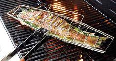 Fish Grilling Basket #tech #flow #gadget #gift #ideas #cool