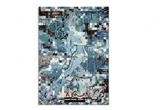 FAILE :: Bedtime Stories :: Perry Rubenstein Gallery Nov. 4th - Dec. 23rd 2010 #mixed #blue #media #faile