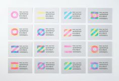 Feito com Vinil on Behance #stamp #cards #business #stationery