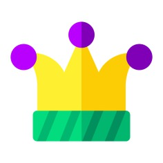 See more icon inspiration related to hat, joker, circus, birthday and party, cultures, fool, buffoon, jester, accessory, carnival, costume, entertainment, clown and fashion on Flaticon.