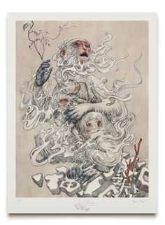 James Jean Celebrates the Year of the Monkey With New Print illustration