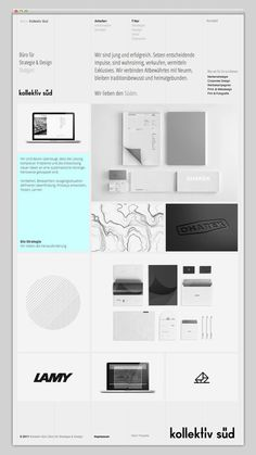 Kollektiv Süd #layout #studio #website #web #web design
