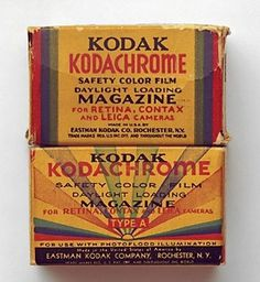 Kodachrome film is seriously at the end of its life -- again -- Engadget #packaging #kodak #vintage