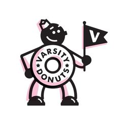 Matt Stevens // Creative Direction + Design - WORK BLOG - New Work: Varsity Donuts / Phase 1 #logo