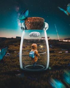 Whimsical and Dreamlike Photo Manipulations by Rizal Avib