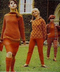 http://blog.wanken.com/9030/womens-fashion-of-the-60s/ #fashion 60s