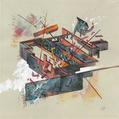 Jacob van Loon | PICDIT #abstract #design #painting #art #drawing