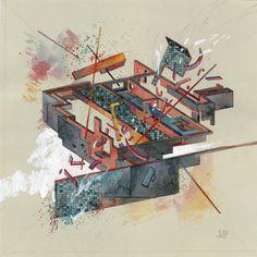 Jacob van Loon | PICDIT #drawing #art #painting #design #abstract