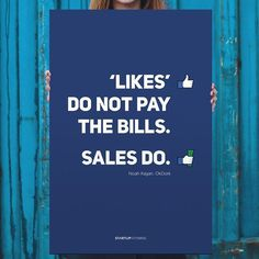 Likes Don't Pay the Bills Poster #poster #typography #inspiration