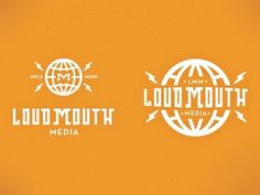 Dribbble - Loud Mouth Media Logo by Phalen Elonich #mpls #elonich #phalen #minnesota #design #concept #loudmouth #logo #media