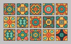 Visual frequencies on Behance