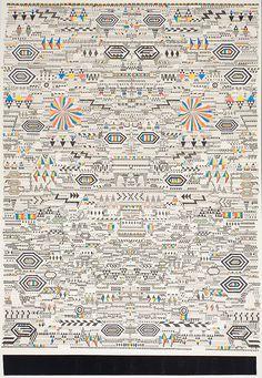 Matthew Craven | PICDIT #design #pattern #art #drawing