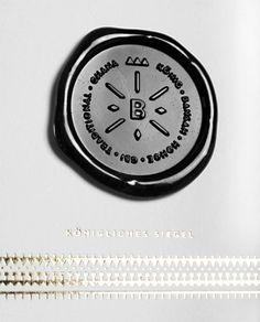 - Julian Zimmermann - Graphic Design - Germany #wax #logo #stamp #identity