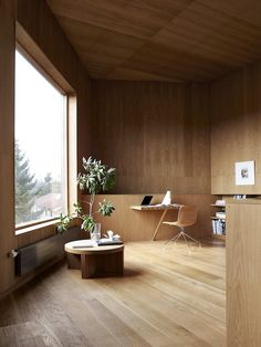 Villa Wienberg in Aarhus by Wienberg Architects and Friis and Moltke #interior #beautful #wood #architecture #minimal #houses