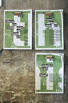 FFFFOUND! #print #clever