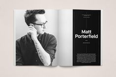 The Great Discontent Magazine spread8 #layout #design