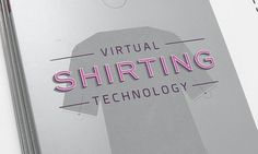 Virtual Shirting Catelog - Dave Kaul Design #catalog