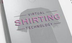 Virtual Shirting Catelog - Dave Kaul Design #catalog