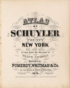 Schuyler County, New York by peacay, via Flickr #type