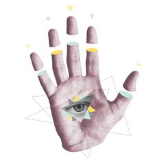 See, Hear, Speak No Evil Hand Collage - John Sippel   vltrr vltrr.com
