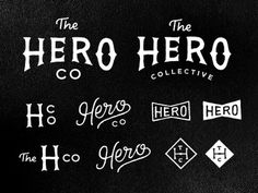 Dribbble_herocollective #type