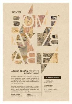 Bombay Babe #bombay #babe #poster #typography