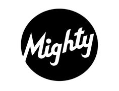 Google Image Result for http://www.jessicahische.is/wp-content/uploads/2011/03/mighty11.png #typography #type #logo #script #circle #mighty