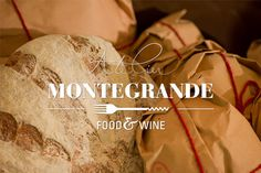 Atelier Montegrande food & wine on Behance #atelier #branding #& #wine #food #corporate #brand #identity