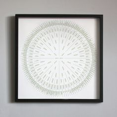 "Image of 7 Generation Sunburst Family Tree | 24""x24\"""